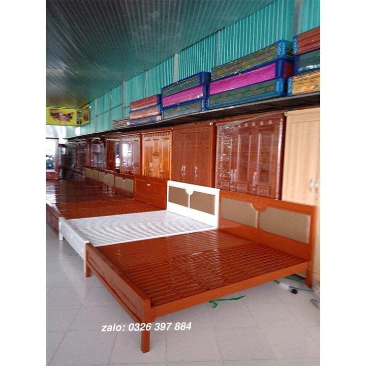 Giường sắt đơn An Bình - AB04 1