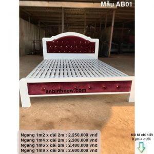 mẫu giường ngủ đẹp nhất 2021