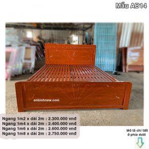 Giường sắt 1m8 giả gỗ