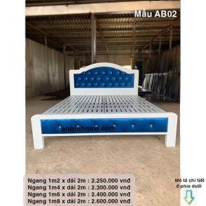 giường ngủ 1m4 đẹp một người nằm