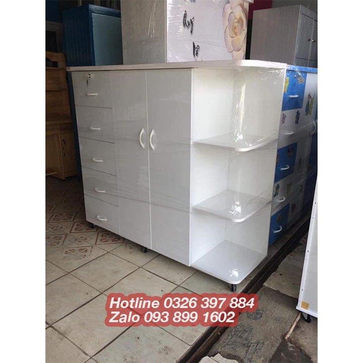 Tủ quần áo nhựa Đài Loan giá rẻ AB702 3