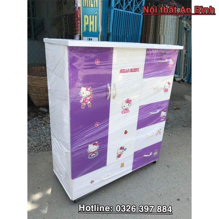 Tủ quần áo nhựa giá rẻ anbinhnew.com 9