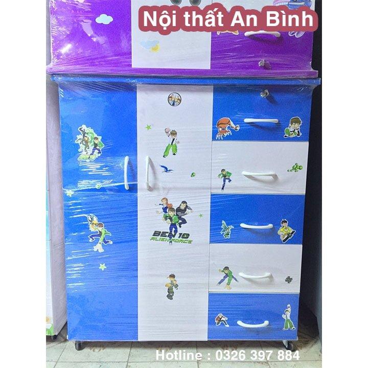 Tủ quần áo nhựa Đài Loan 1m06 x 1m25 cao cấp 1