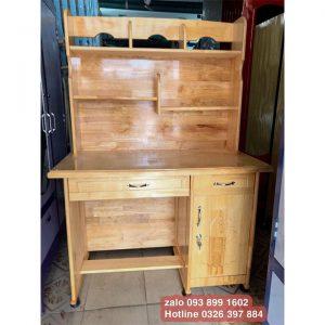 bàn học 1m gỗ