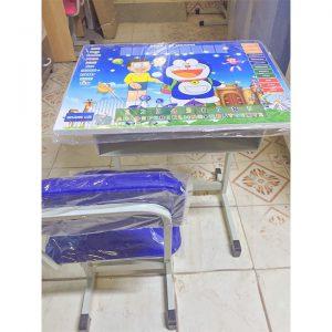 Bộ bàn học thông minh doremon xanh dương chống gù chống cận