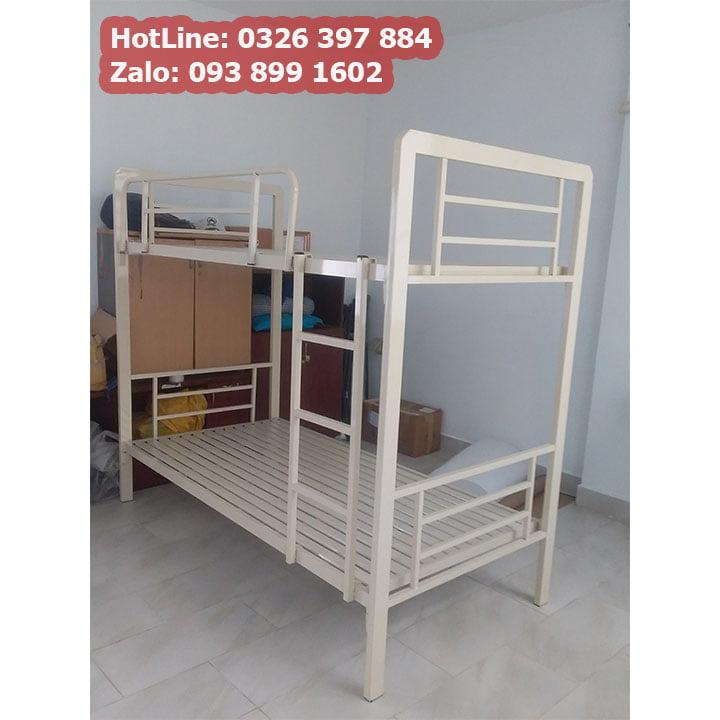 Giường sắt 2 tầng cao cấp cho phòng trọ, homestay giá rẻ 8