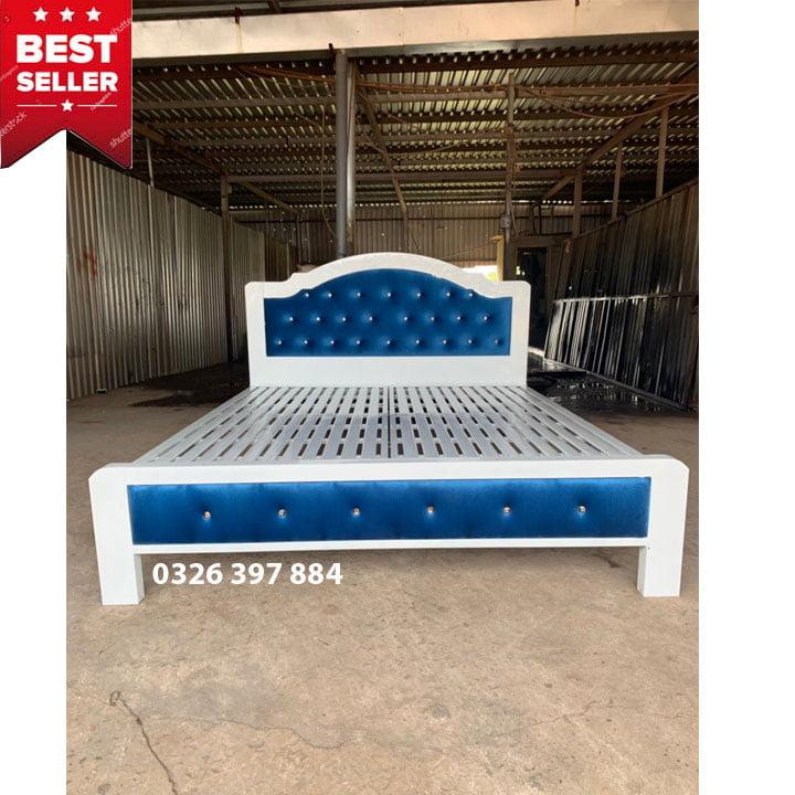 Giường ngủ sắt giá rẻ 1m2, 1m4, 1m6, 1m8 x dài 2m