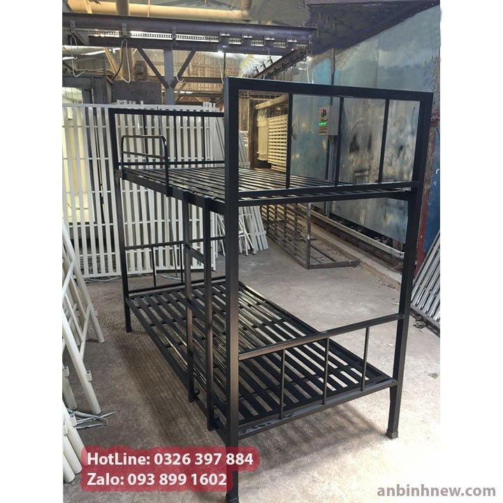 Giường sắt 2 tầng giá rẻ An Bình