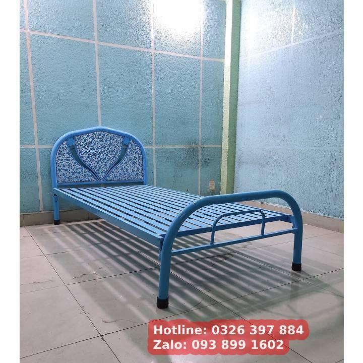 Giường sắt giá rẻ 1m2, 1m4, 1m6, 1m8 5
