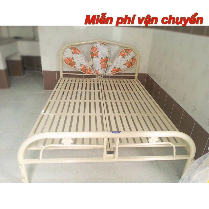 Giường sắt giá rẻ 1m2, 1m4, 1m6, 1m8