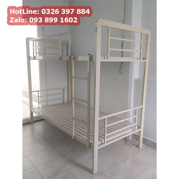 Giường sắt 2 tầng cao cấp cho phòng trọ, homestay giá rẻ 2