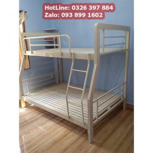 mẫu giường 2 tầng bằng sắt thích hợp cho bé trai