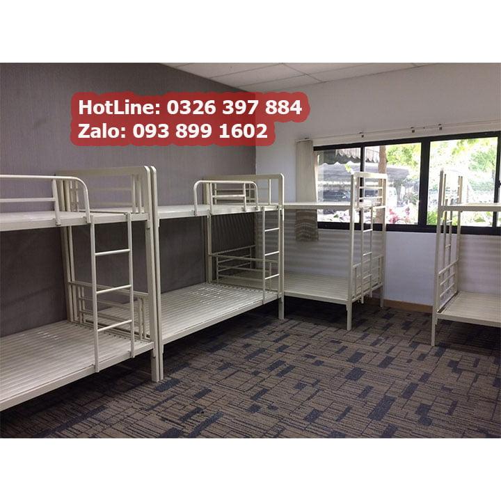Giường sắt 2 tầng cao cấp cho phòng trọ, homestay giá rẻ 3
