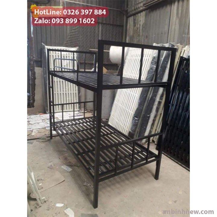 Giường sắt 2 tầng giá rẻ An Bình 1