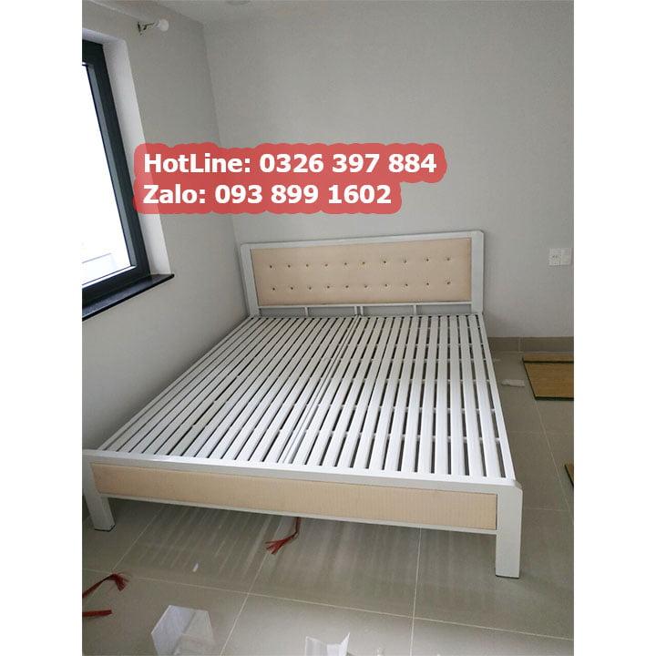 Tất Tần Tật về : giường sắt 1m6 giá rẻ 4