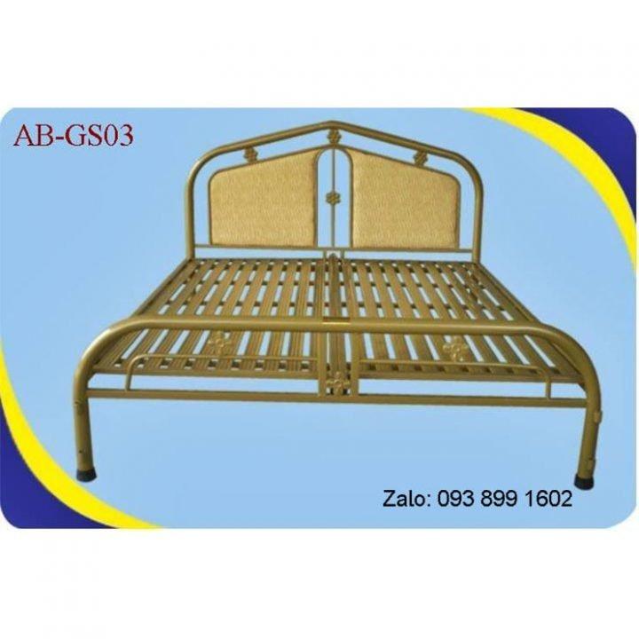 Giường sắt đơn An Bình giá rẻ 0m8x2m