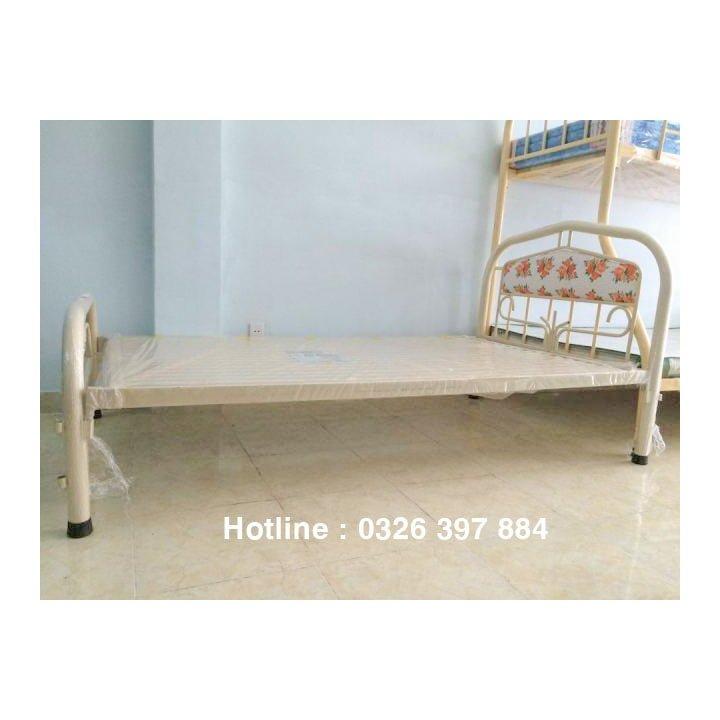 Giường sắt đơn An Bình giá rẻ 0m8x2m 4