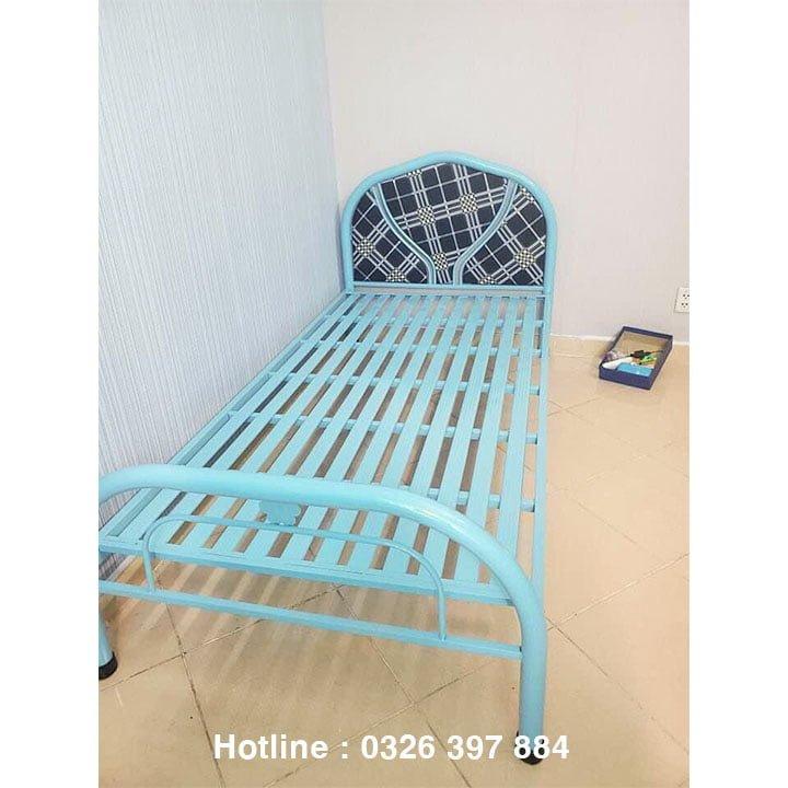 Giường sắt đơn An Bình giá rẻ 0m8x2m 5