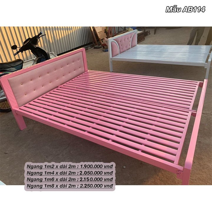 Tất Tần Tật về : giường sắt 1m6 giá rẻ 5