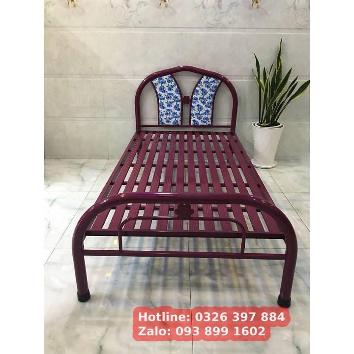 Tất Tần Tật về : giường sắt 1m6 giá rẻ 11