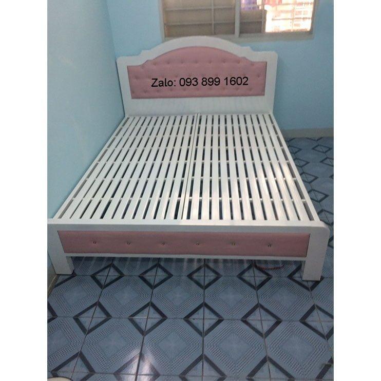 Giường sắt đơn Hoàng Gia - mẫu cong HG01 3
