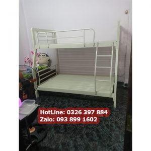 giường sắt 2 tầng 1m6