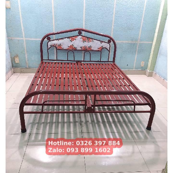 Giường sắt đơn An Bình giá rẻ 0m8x2m 1