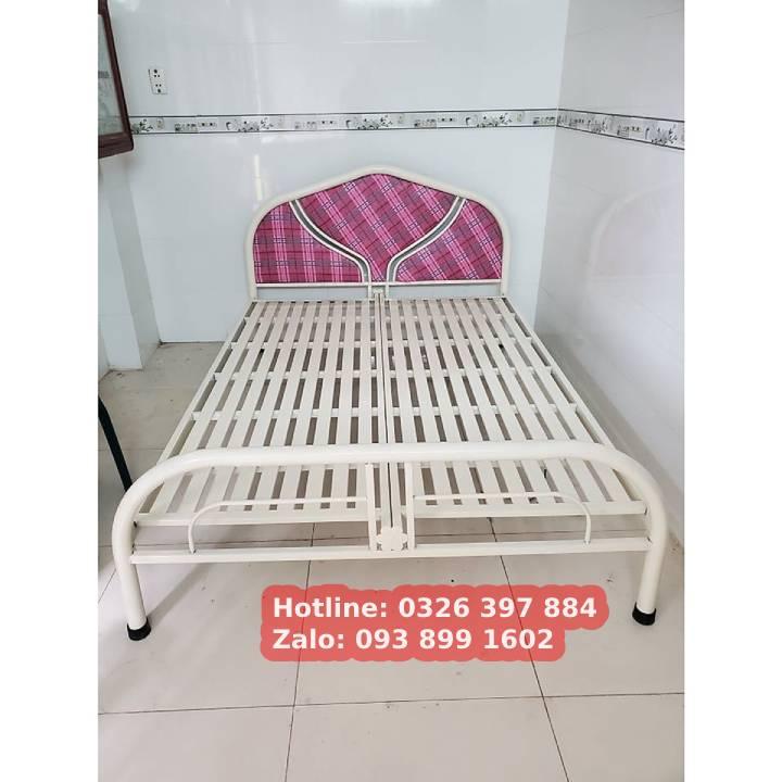 Giường sắt đơn An Bình giá rẻ 0m8x2m 3