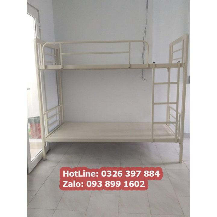 Giường sắt 2 tầng cao cấp cho phòng trọ, homestay giá rẻ 4