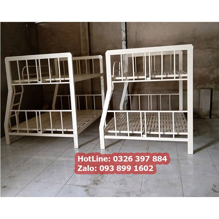 Giường sắt 2 tầng giá rẻ sắt hộp 4x8 đủ kích thước An Bình New 3