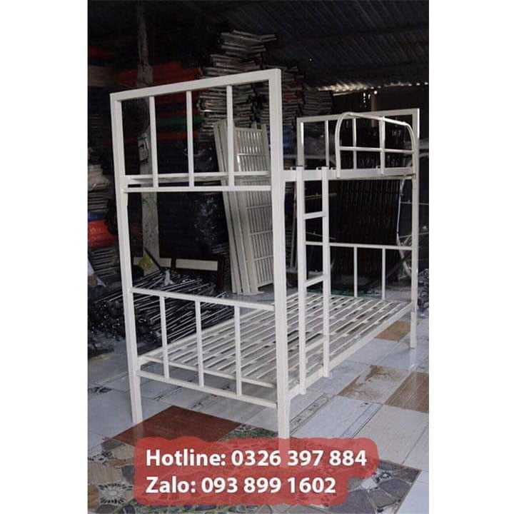 Giường sắt 2 tầng giá rẻ An Bình 3