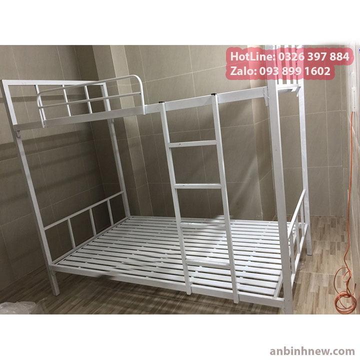 Giường sắt 2 tầng giá rẻ An Bình 2