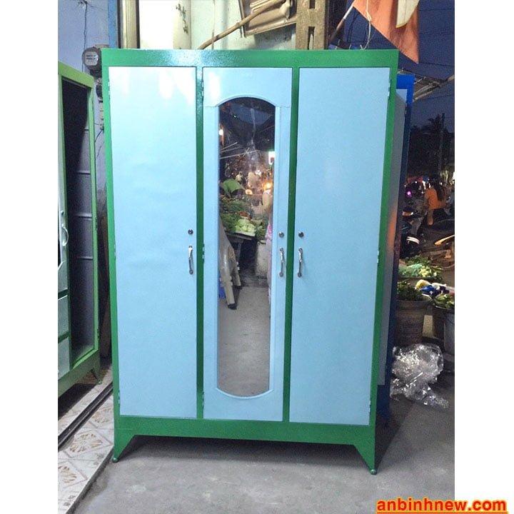 Tủ đựng quần áo giá rẻ nhiều ngăn 1m2 x 1m8