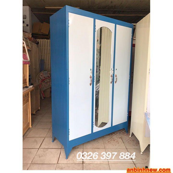 Tủ đựng quần áo giá rẻ nhiều ngăn 1m2 x 1m8 1