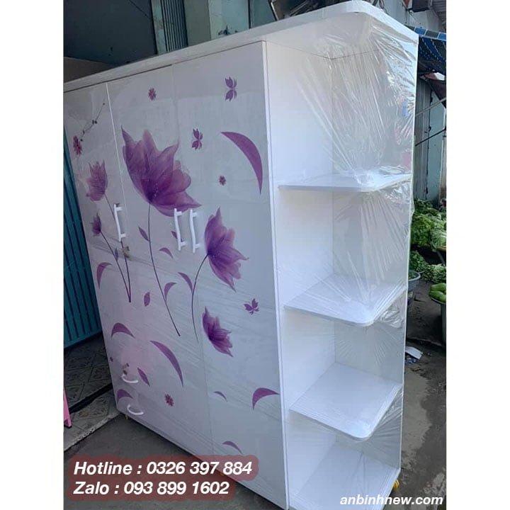 Tủ nhựa Đài Loan 3 cánh kích thước lớn B7022 1