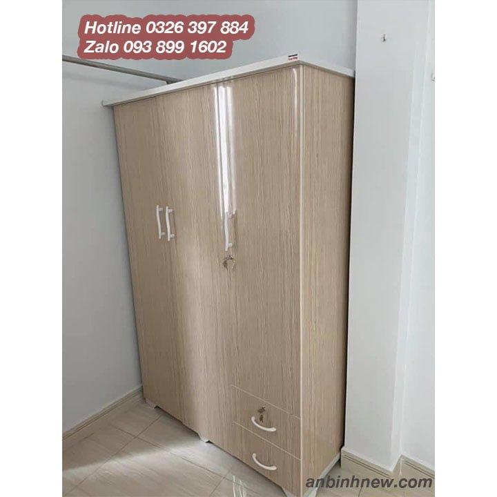Tủ nhựa màu xanh dương, hồng, trắng đẹp AB759 1