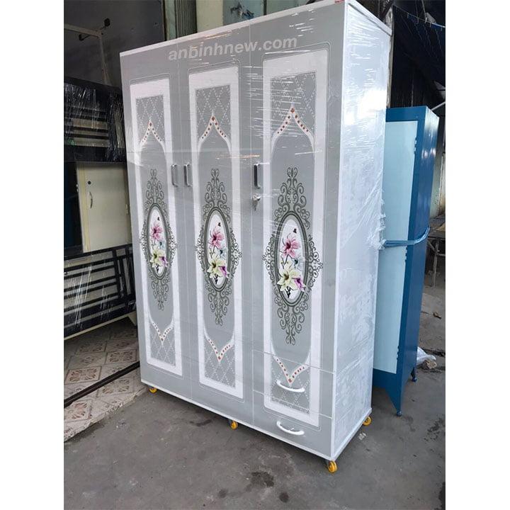 Tủ nhựa Đài Loan in 3D đẹp AB751 3