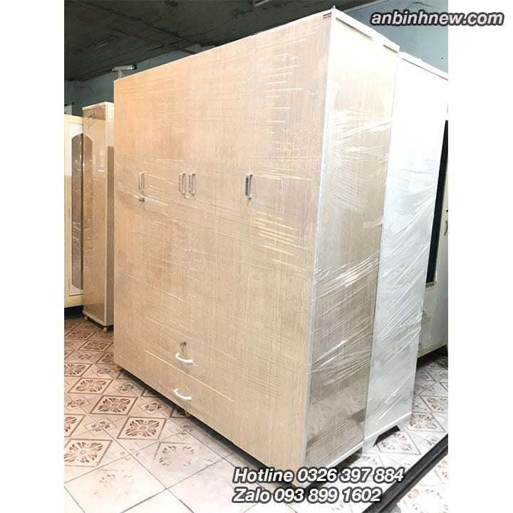 Tủ nhựa Đài Loan đựng quần áo cao 1m8 ab70 6
