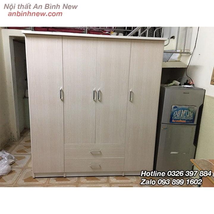 Tủ nhựa Đài Loan đựng quần áo cao 1m8 ab70 4