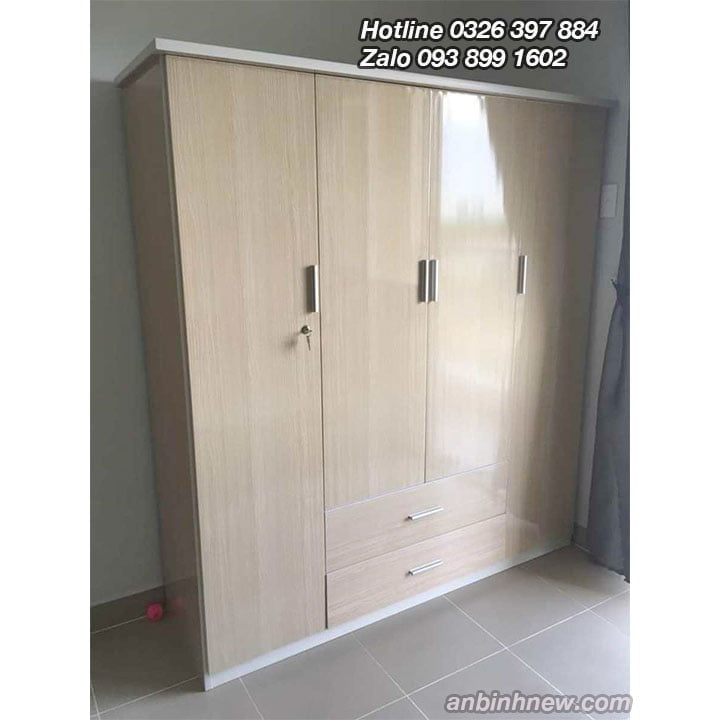 Tủ nhựa Đài Loan đựng quần áo cao 1m8 ab70 3