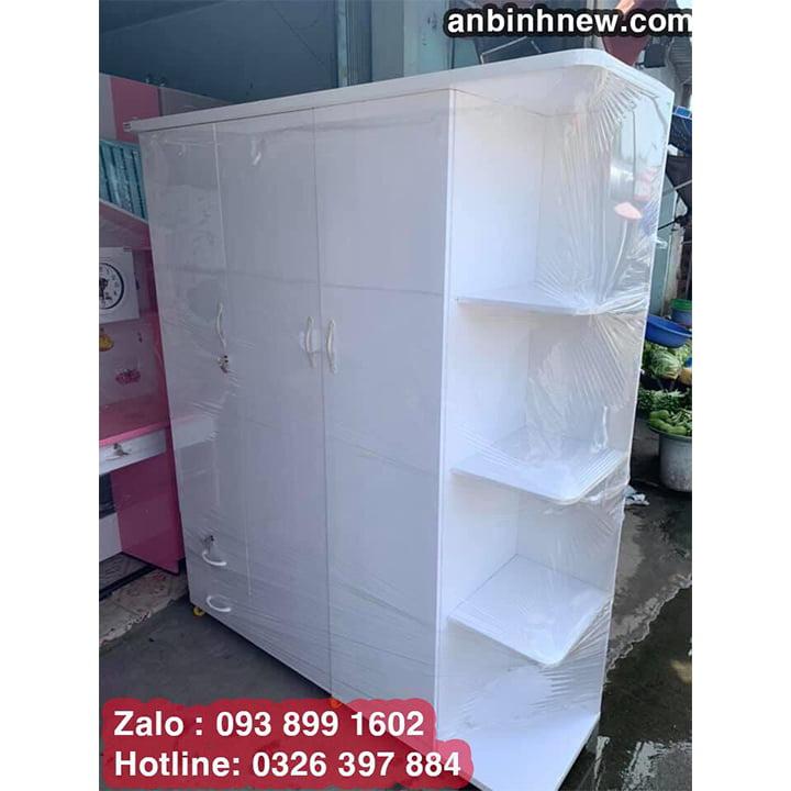 Tủ nhựa Đài Loan 3 cánh kích thước lớn B7022 2
