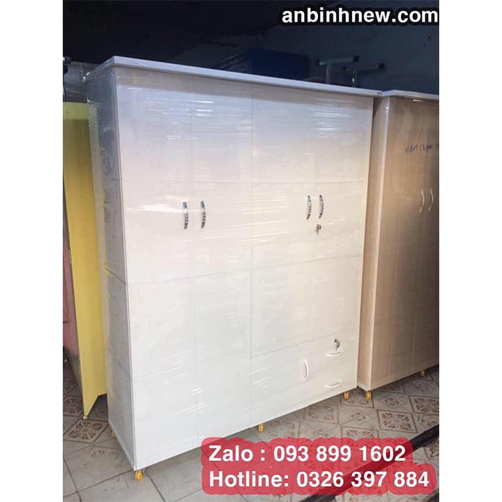 Tủ nhựa Đài Loan đựng quần áo cao 1m8 ab70 1