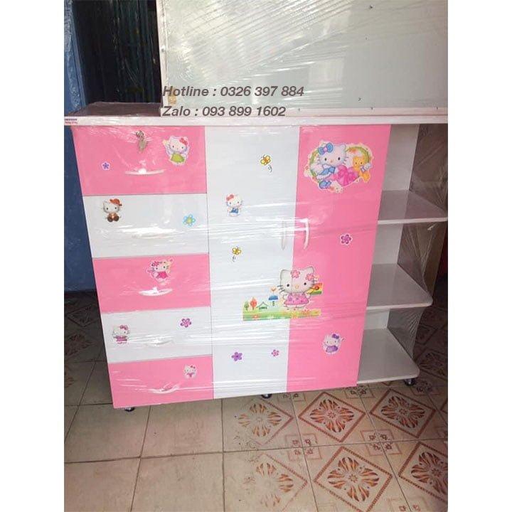 Tủ nhựa treo quần áo bằng Nhựa Đài Loan AB706 3