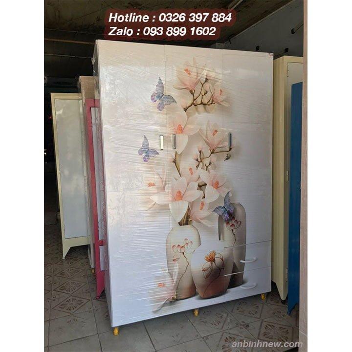 Tủ nhựa Đài Loan in 3D đẹp AB751 5