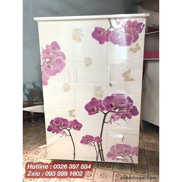 Tủ đựng quần áo dành cho phòng ngủ in 3D B752 3