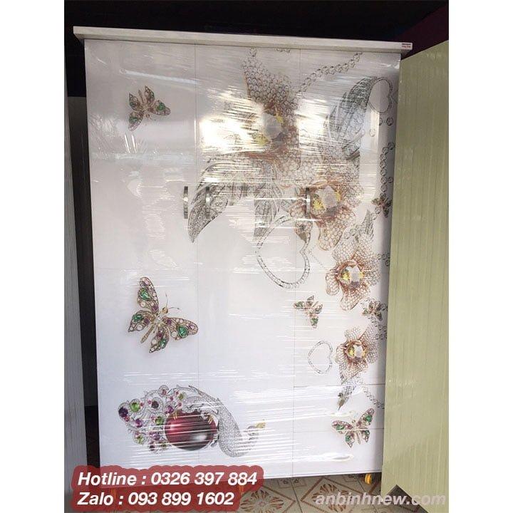 Tủ quần áo bằng nhựa in 3D AB758 1