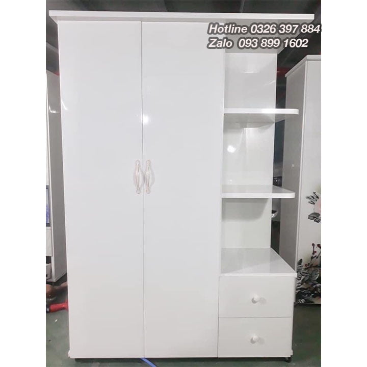 Tủ nhựa đựng quần áo giá rẻ rộng 1m25 x cao 1m8 AB703 1