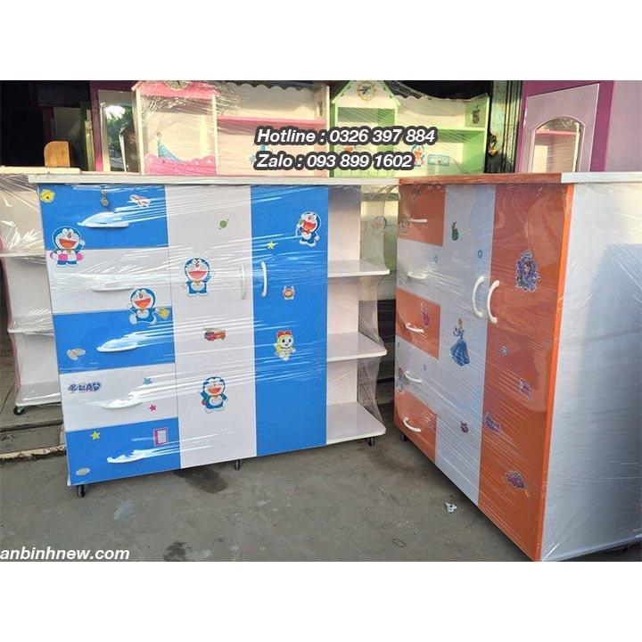 Tủ nhựa treo quần áo bằng Nhựa Đài Loan AB706