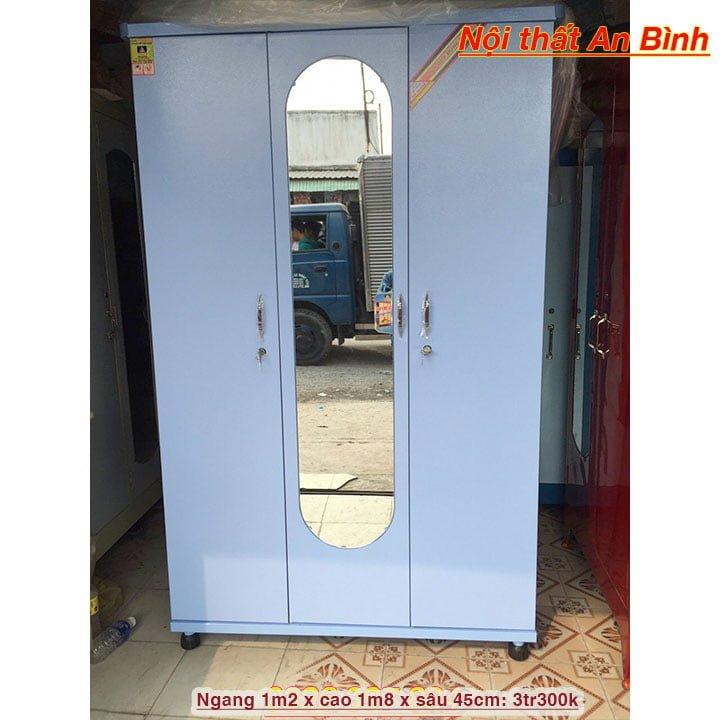 Tủ đựng quần áo bằng sắt giá rẻ nhiều màu 4