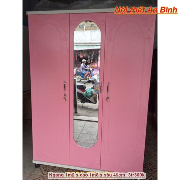 Tủ quần áo sắt cao cấp Nội thất An Bình